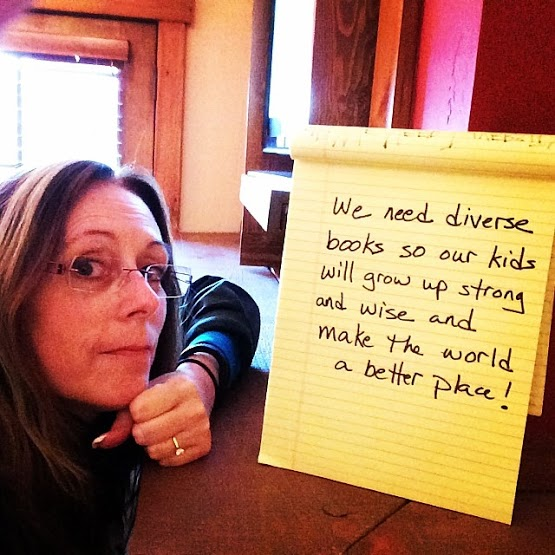 Author Laurie Halse Anderson explains why she supports diverse books.