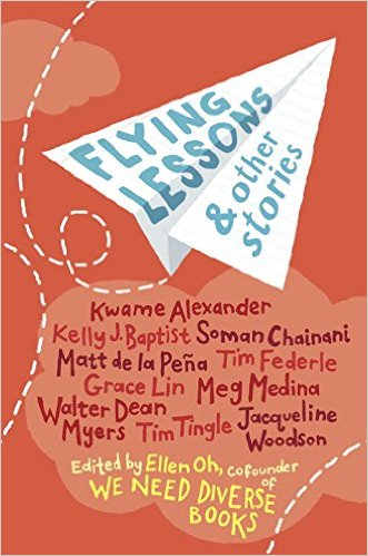 The cover of FLYING LESSONS & OTHER STORIES
