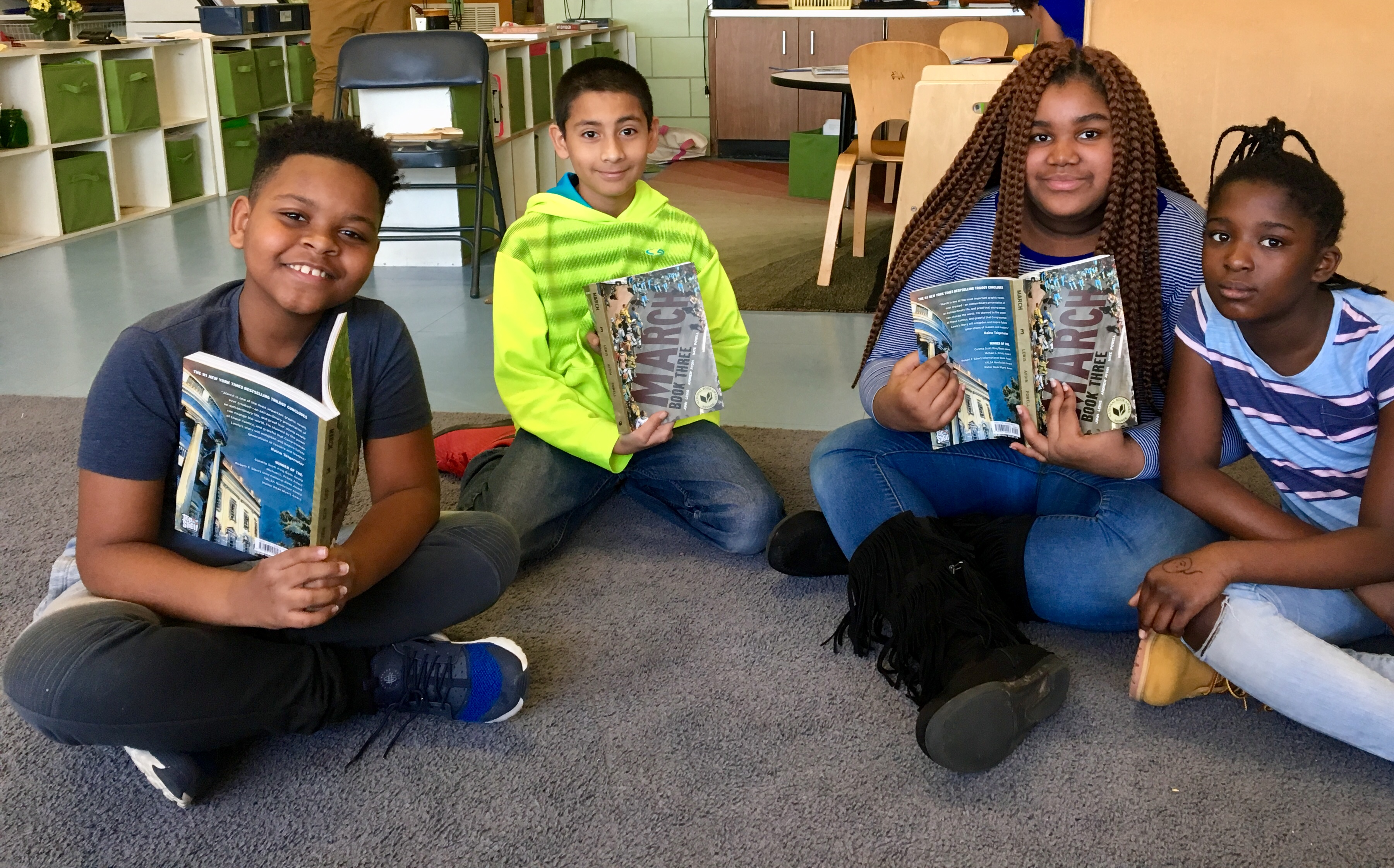 WNDB in the Classroom - March: Book 3 Giveaway
