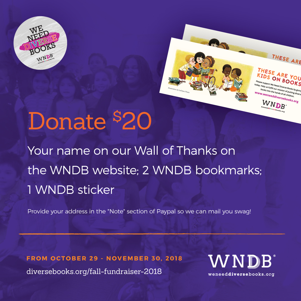 WNDB Fall Fundraiser $20 donor level