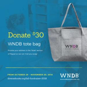 WNDB Fall Fundraiser $30 donor level