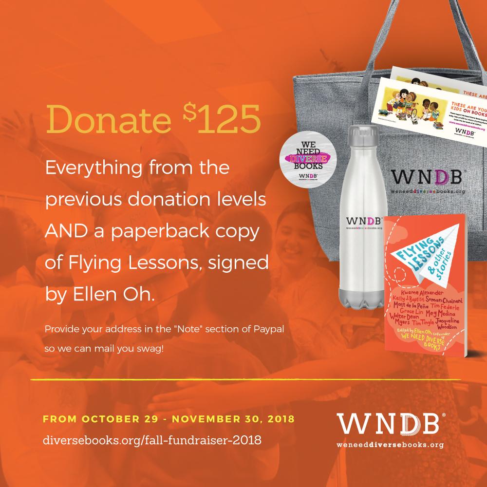 Fall Fundraiser 2018 $125 Donation Level