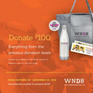 WNDB Fall Fundraiser $100 donor level