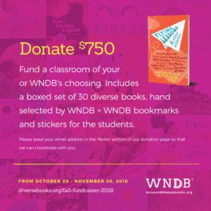 WNDB Fall Fundraiser $750 donation level