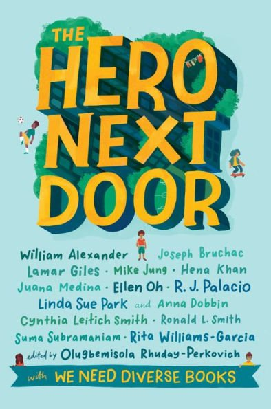 Cover Reveal for THE HERO NEXT DOOR!