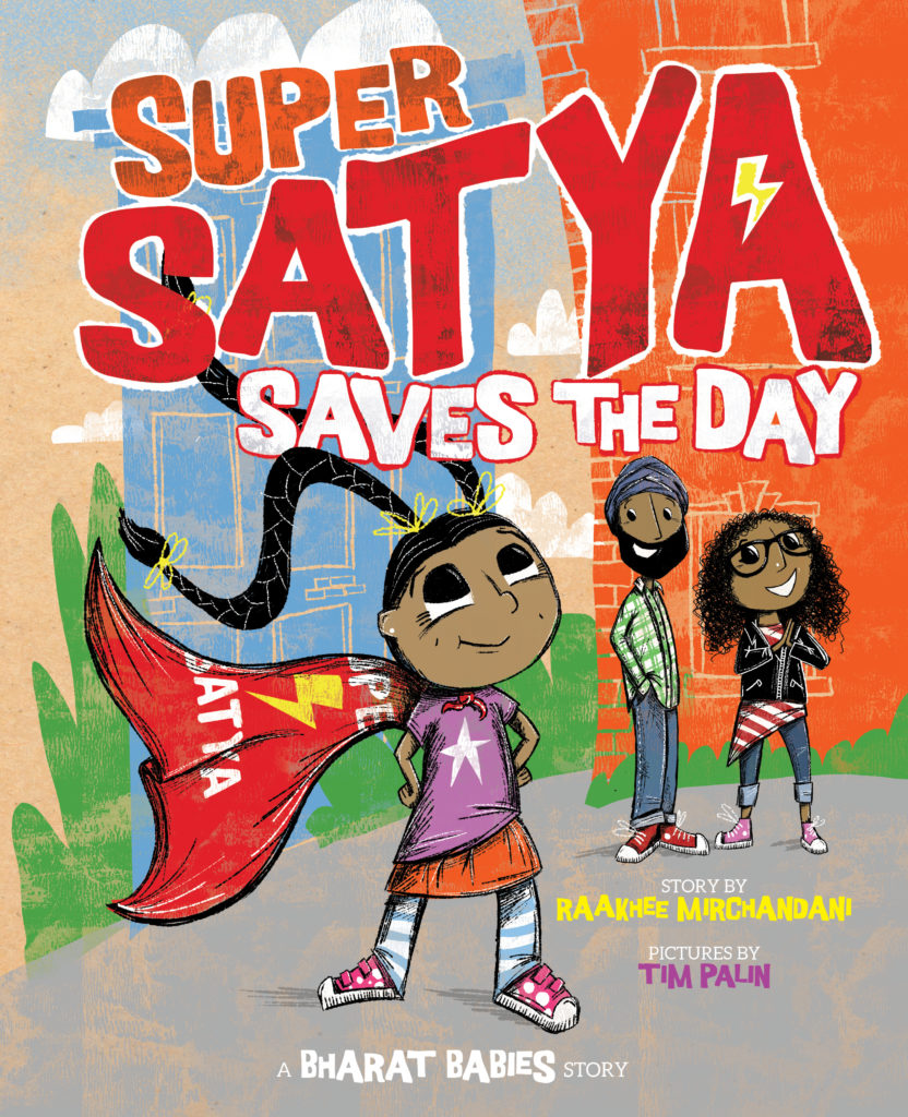 Super Satya Saves the Day Cover