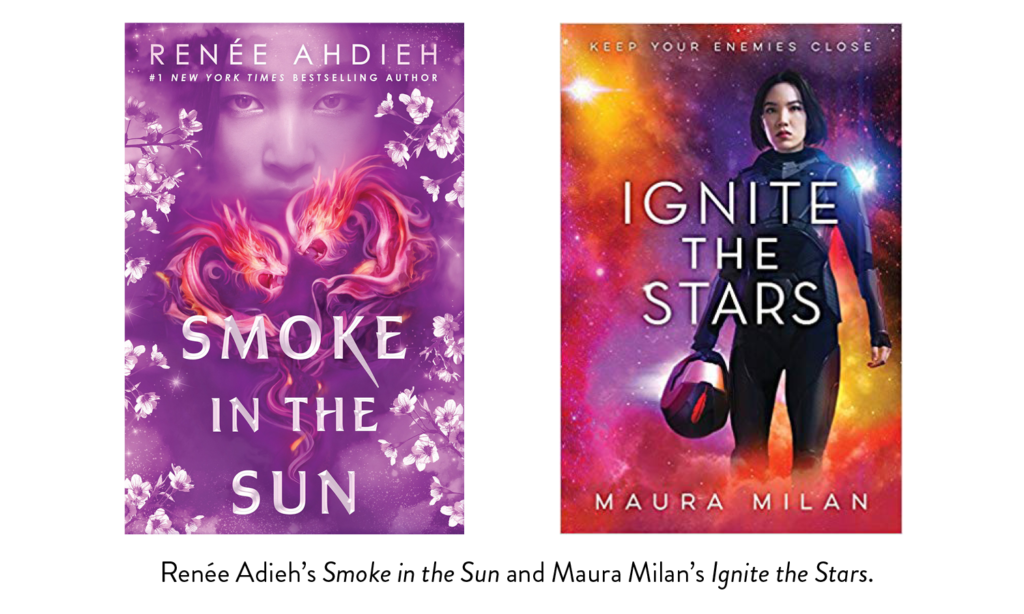 Smoke In The Sun by Renee Adieh and Ignite the Stars by Maura Milan