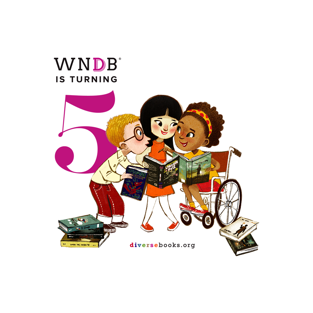 We Need Diverse Books Celebrates 5 Year Anniversary