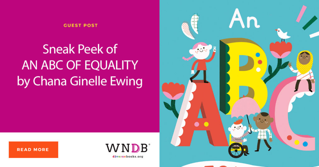 Sneak Peek of AN ABC OF EQUALITY by Chana Ginelle Ewing blog header