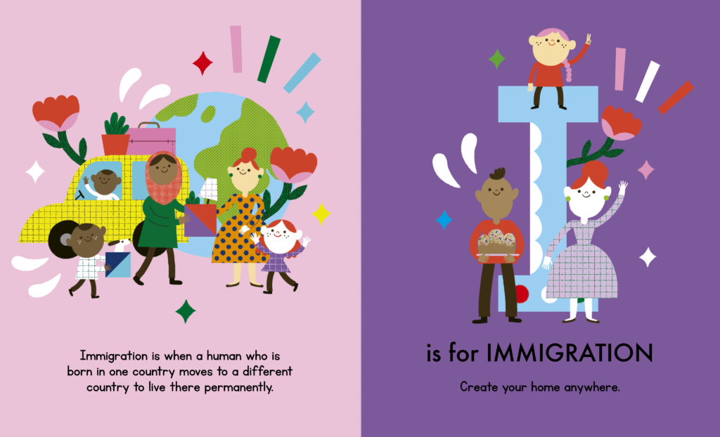 An ABC of Equality Is is for Immigrant