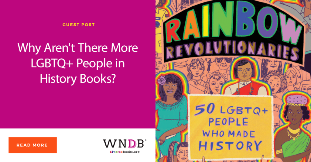 Why Aren't There More LGBTQ+ People in History Books? Sarah Prager Blog Header Image