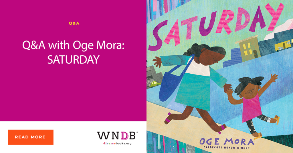 Q&A with Oge Mora: SATURDAY WNDB