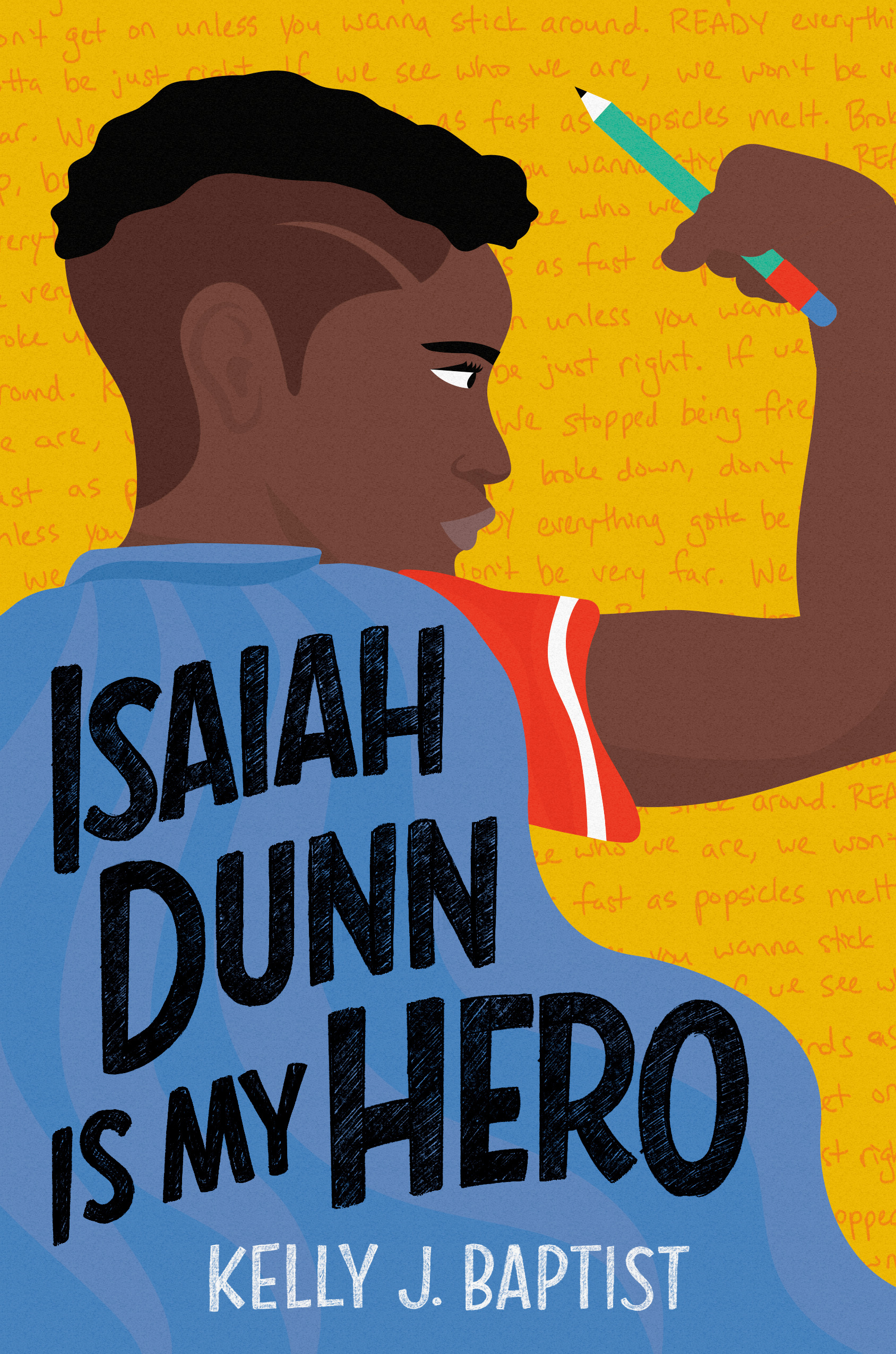 Cover for ISAIAH DUNN IS MY HERO