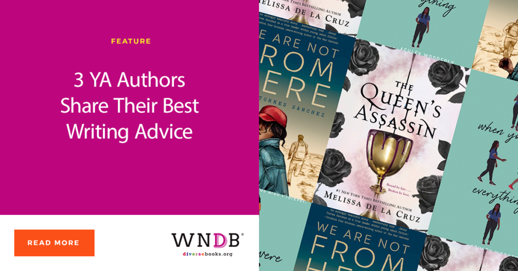 3 YA Authors Share Their Best Writing Advice WNDB Blog cover