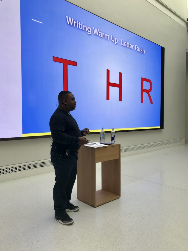 WNDB Lectures at the Apple Carnegie Library: Maurene Goo, Lamar Giles, and Tiffany D. Jackson Talk Writing event photos
