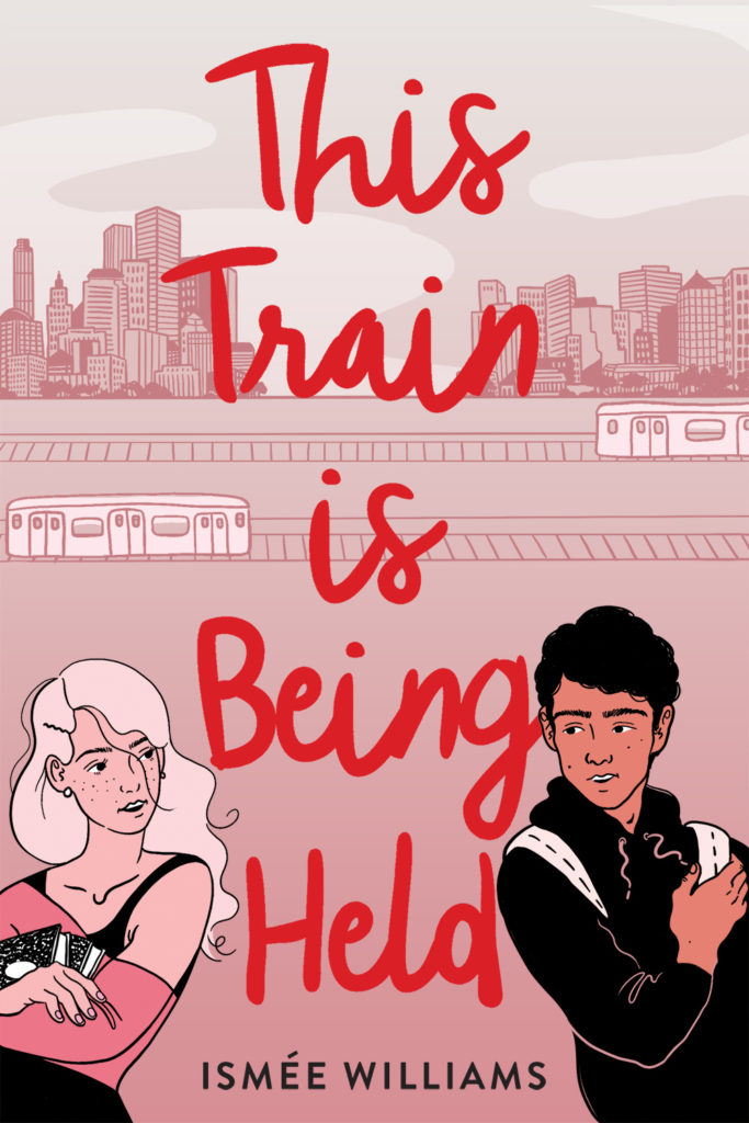 This Train Is Being Held book cover Ismee Williams