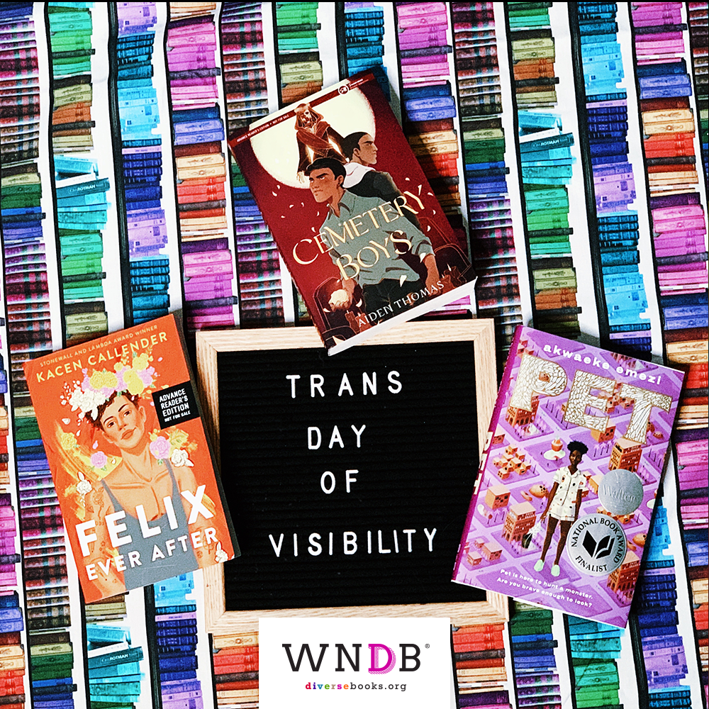 Trans Day of Visibility Book Photo