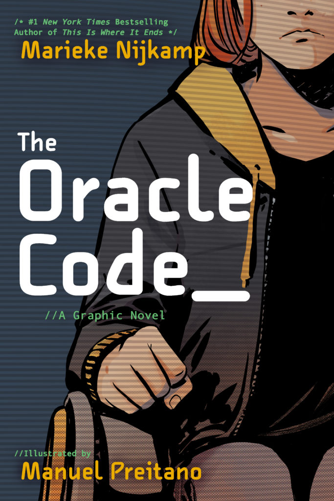 Marieke Nijkamp The Oracle Code WNDB book cover