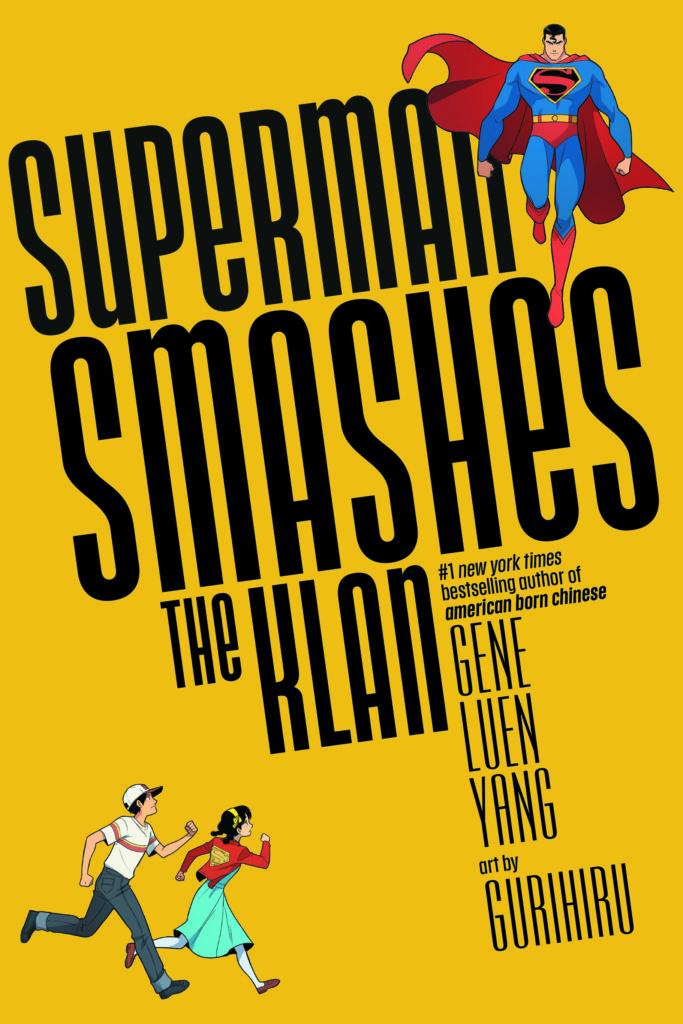Superman Smashes the Klan book cover Gene Luen Yang