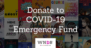 donate to We need diverse books emergency fund for diverse creatives in children's publishing
