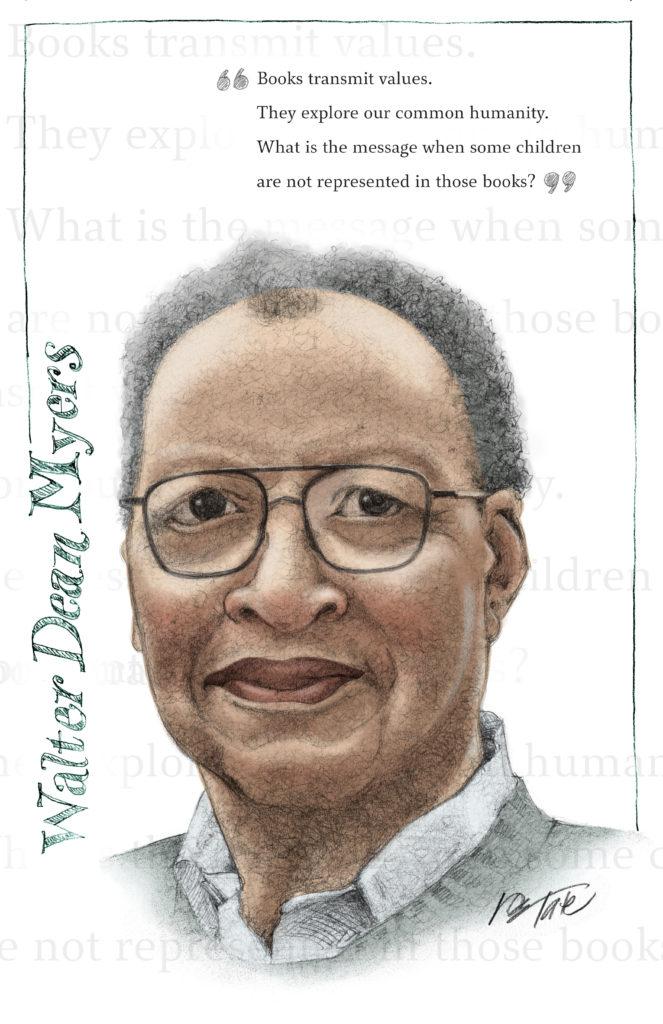 Don Tate Walter Dean Myers Awards art