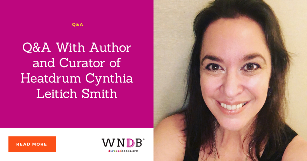 Q&A With Author and Curator of Heatdrum Cynthia Leitich Smith we need diverse books blog