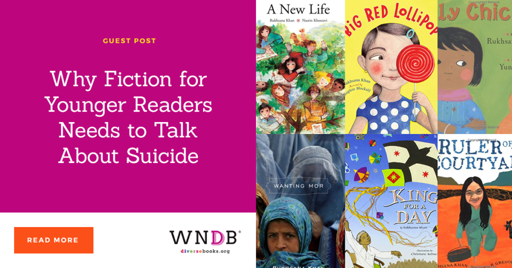 Why Fiction for Younger Readers Needs to Talk About Suicide we need diverse books blog