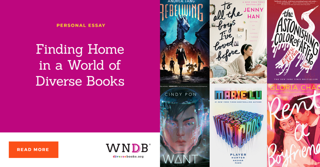 Finding Home in a World of Diverse Books we need diverse books blog JoAnn Yao