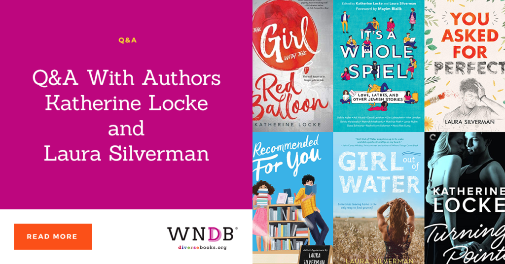 Q&A With Authors Katherine Locke and Laura Silverman we need diverse books