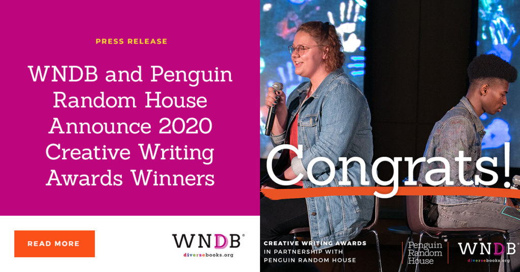 WNDB and Penguin Random House Announce 2020 Creative Writing Awards Winners