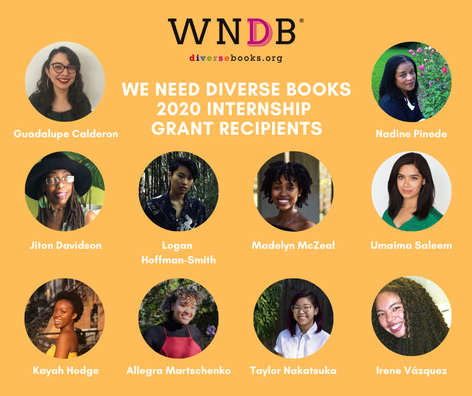 We Need Diverse Books 2020 Interns