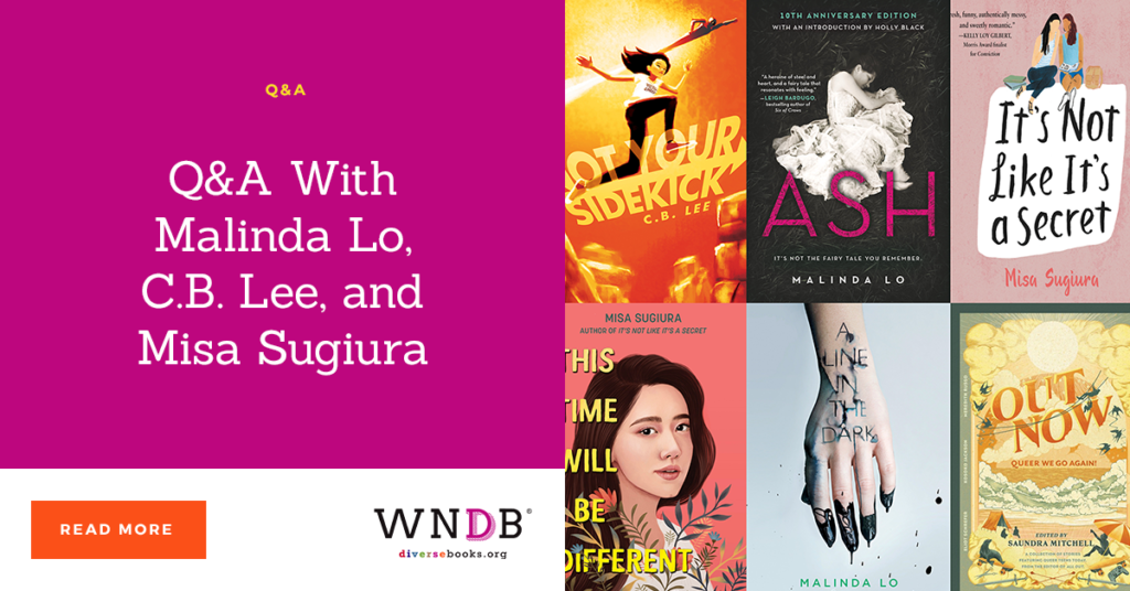 Q&A With Malinda Lo, C.B. Lee, and Misa Sugiura we need diverse books blog