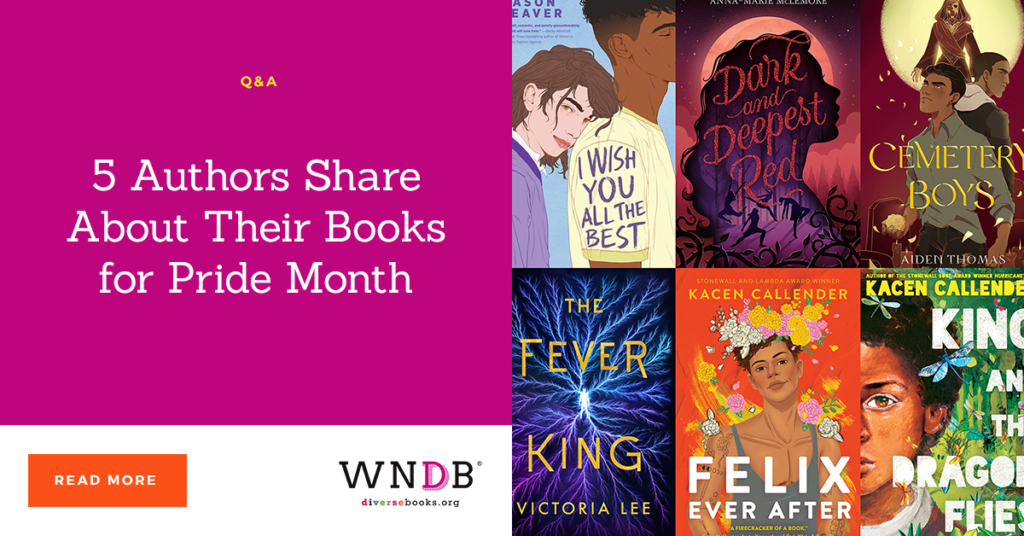 5 Authors Share About Their Books for Pride Month we need diverse books blog