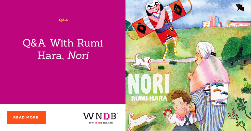 Q&A With Rumi Hara, Nori we need diverse books