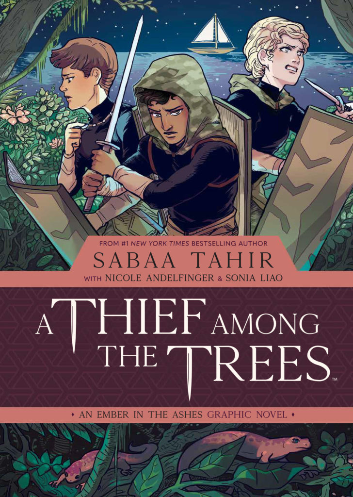 a thief among the trees graphic novel