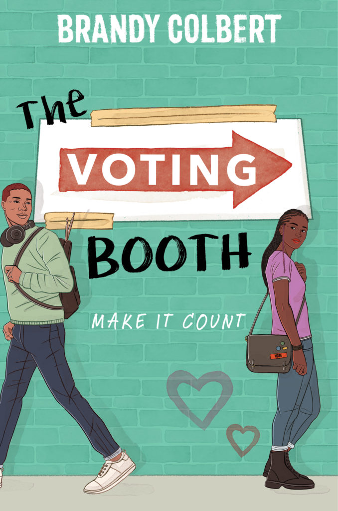 the voting booth cover