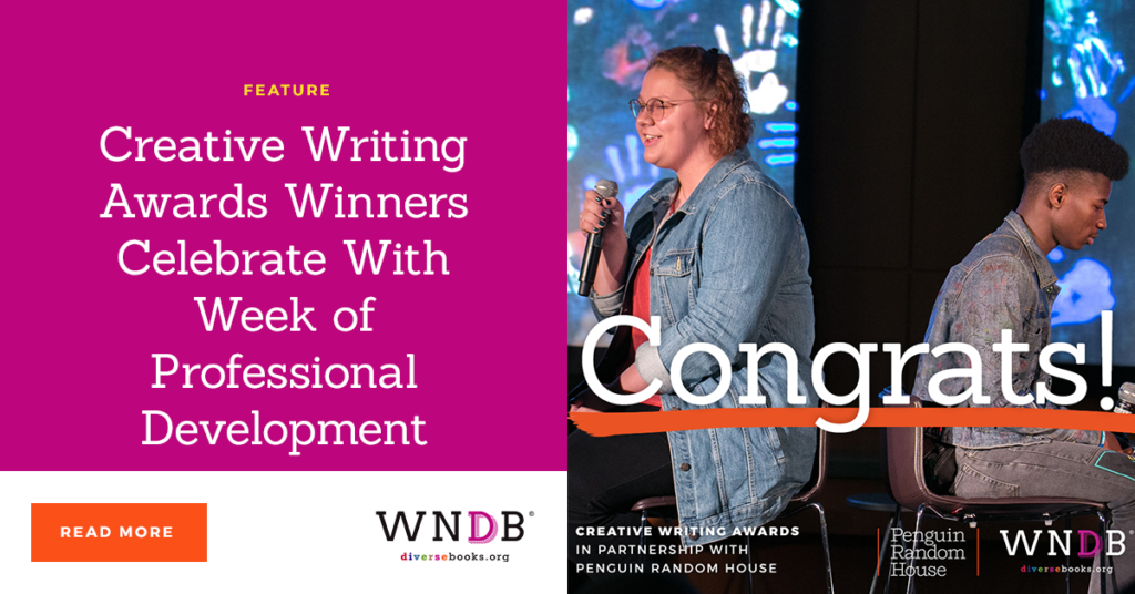Creative Writing Awards Winners Celebrate With Week of Professional Development