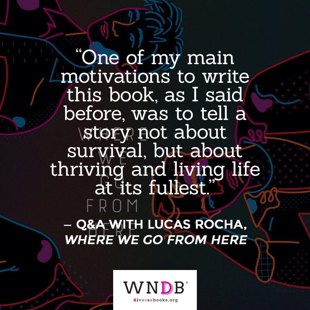Quote: One of my main motivations to write this book, as I said before, was to tell a story not about survival, but about thriving and living life at its fullest.