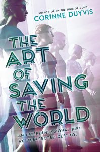 the art of saving the world by corinne duyvis