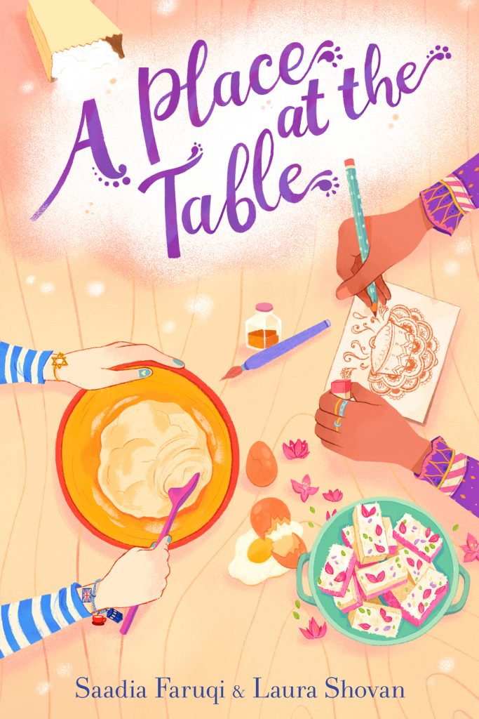 A place at the table by saadia faruqi and laura shovan