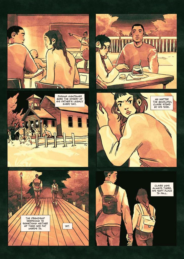 The Sacrifice of Darkness interior page three
