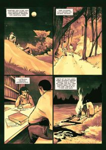 The Sacrifice of Darkness interior page four