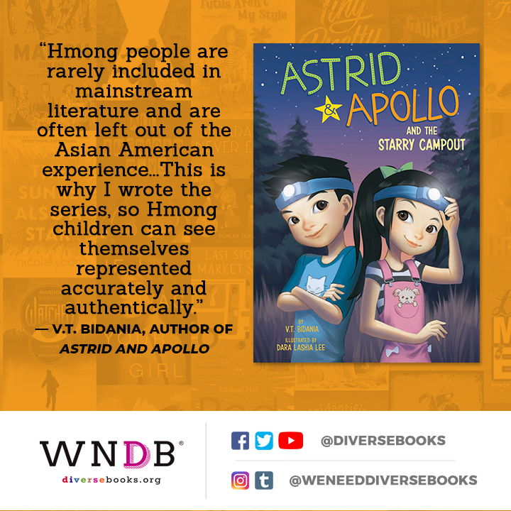"""Hmong people are rarely included in mainstream literature and are often left out of the Asian American experience...This is why I wrote the series, so Hmong children can see themselves represented accurately and authentically."""