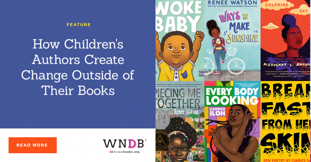 How Children's Authors Create Change Outside of Their Books