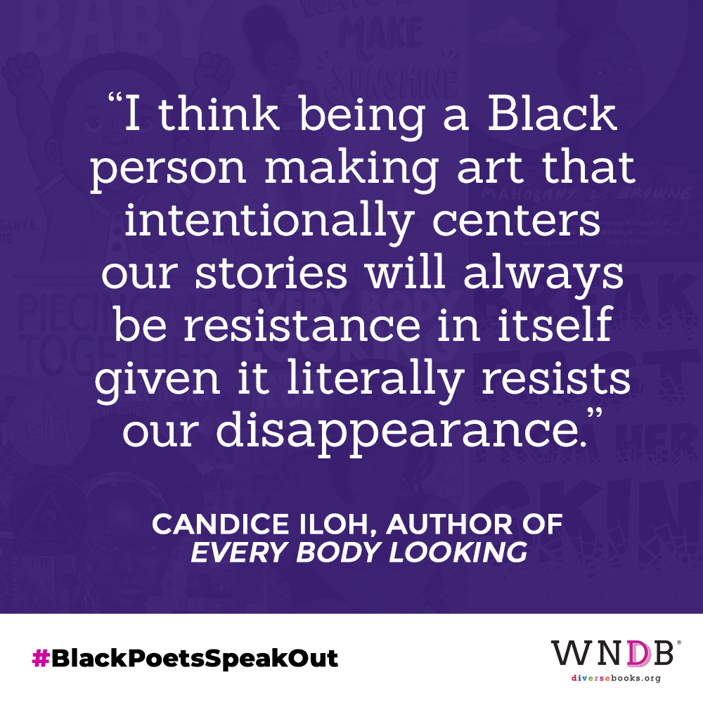 """I think being a Black person making art that intentionally centers our stories will always be resistance in itself given it literally resists our disappearance."""