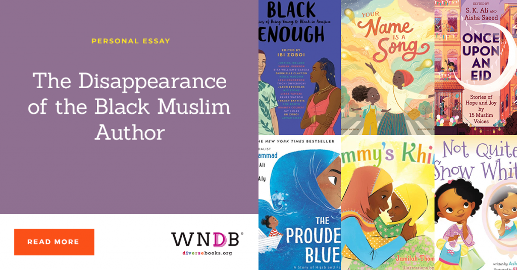The Disappearance of the Black Muslim Author