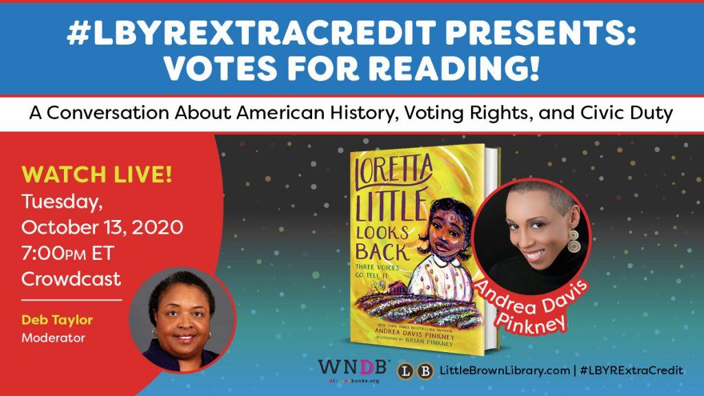 #LBYREXTRACREDIT Presents: Votes for Reading