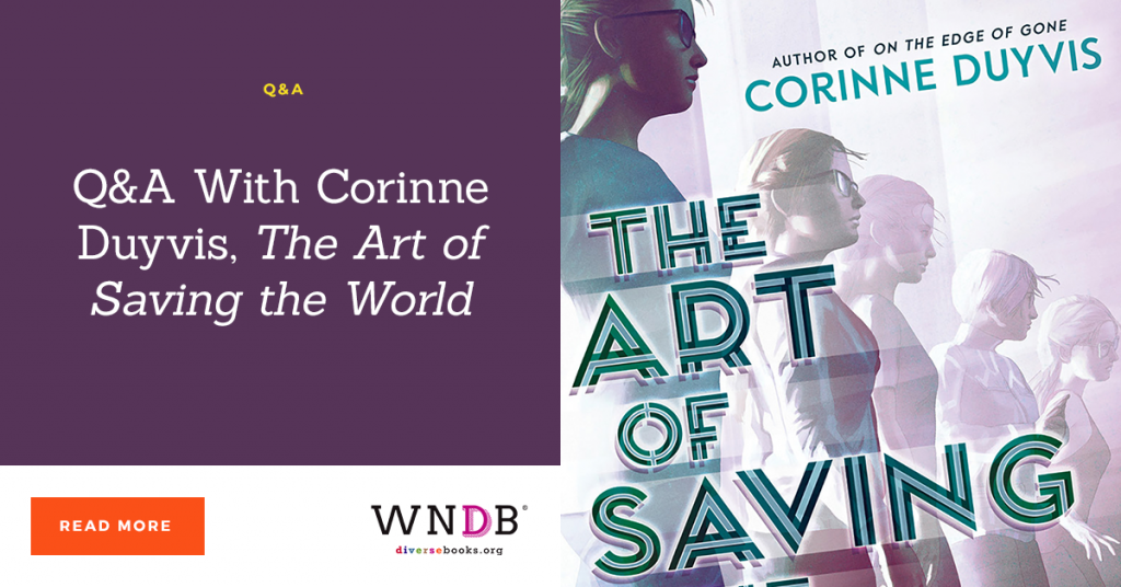 Q&A With Corinne Duyvis, The Art of Saving the World