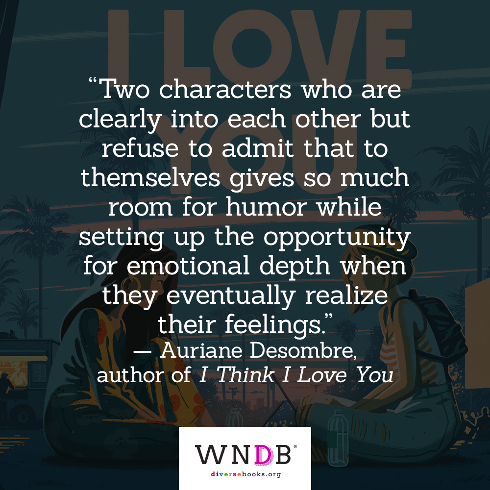 Two characters who are clearly into each other but refuse to admit that to themselves gives so much room for humor while setting up the opportunity for emotional depth when they eventually realize their feelings. quote