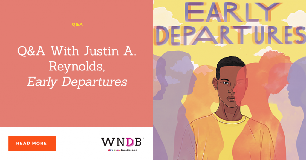 Q&A With Justin A. Reynolds, Early Departures